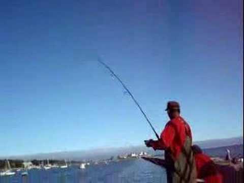 Fishing Eastern Point Breakwater Gloucester Ma Youtube