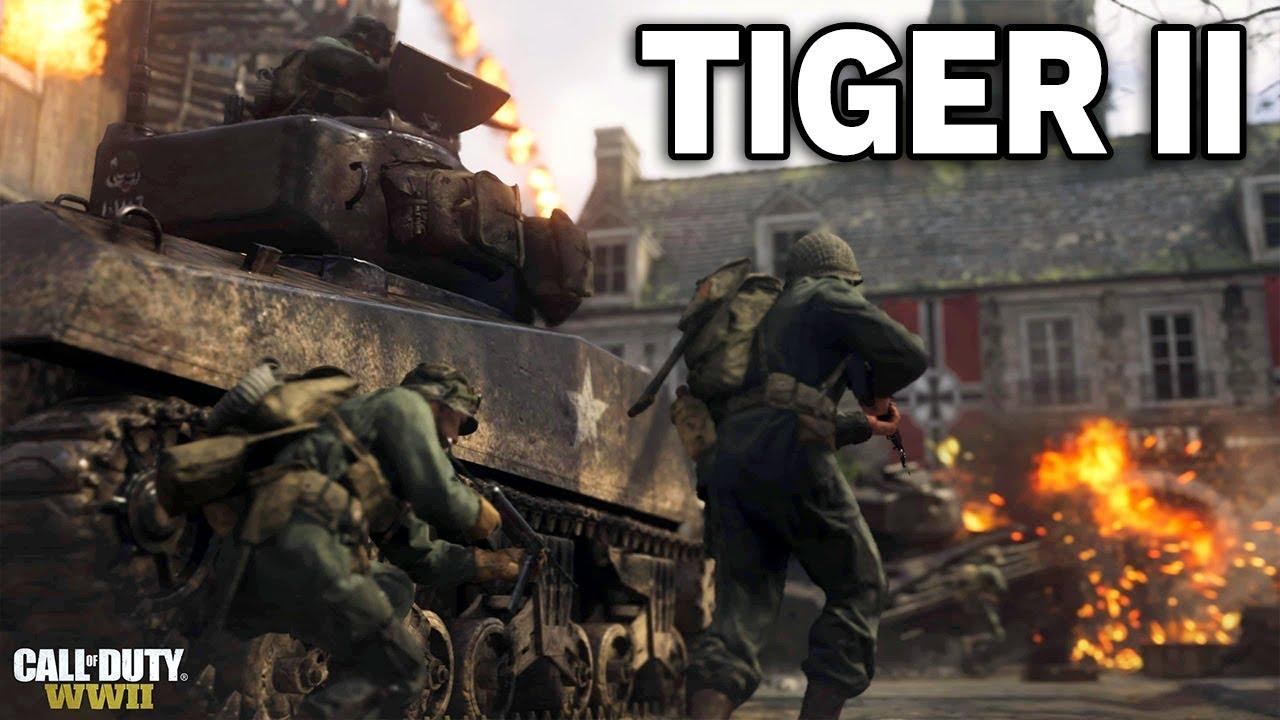 TIGER II ZNISZCZONY – Call of Duty: WW2