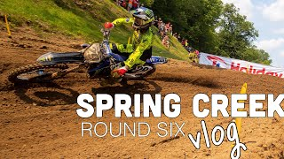 TOP 5 AT SPRING CREEK PRO MOTOCROSS | Christian Craig Races At Millville 2021