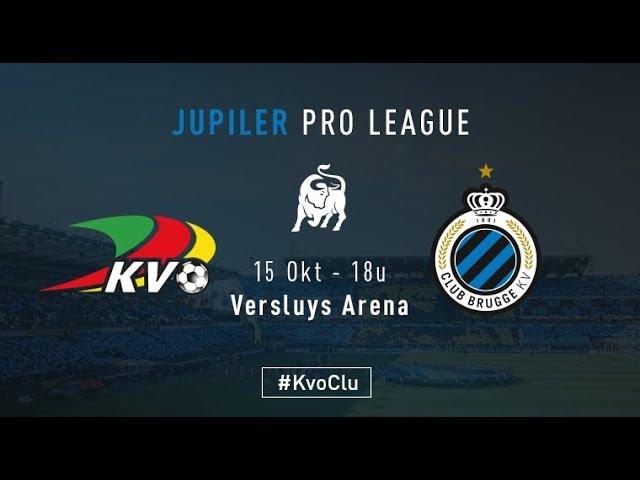 KV OOSTENDE -CLUB BRUGGE | Matchverslag | 2017-2018