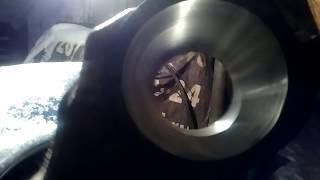 Хонинговка с расточкой цилиндра в домашних условиях(Кирпичём/ненадо токарки процес (((ПРЕВОЗНОСИТЬ!