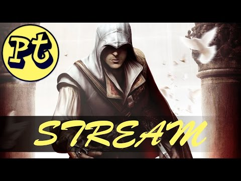 I'm Gonna Take You Back to the Past!   Panther Streams Assassins Creed II!