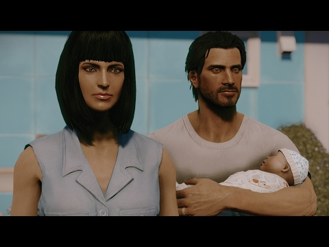 Fallout 4. Restored scene with Piper