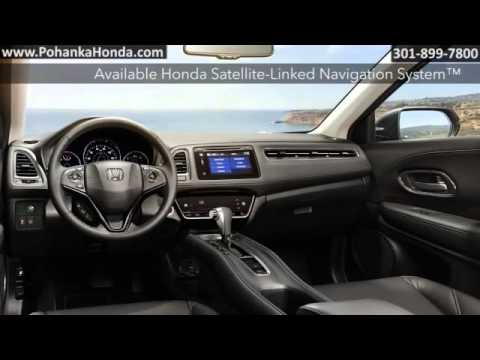 New 2016 Honda HR V Washington DC MD Capitol Heights MD Pohanka Honda  Washington DC Honda Dealer MD