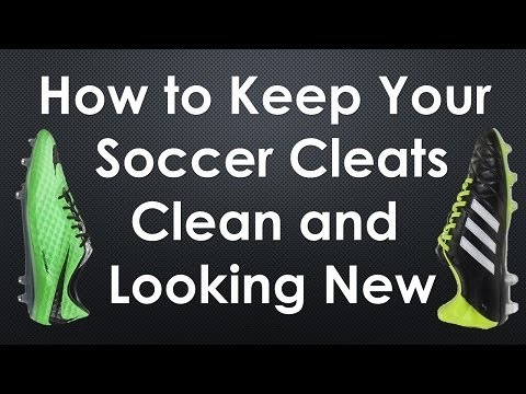 How To Keep Your Soccer Cleat/Football Boots Clean and Looking New