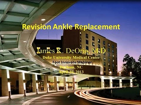 Revision Total Ankle Arthroplasty