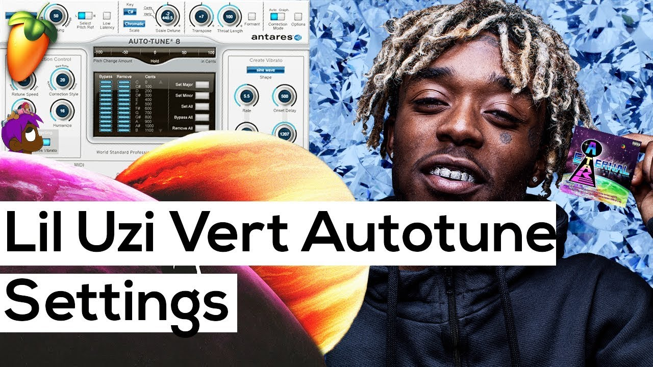 Lil Uzi Vert Autotune Settings (Autotune Major Key ALERT) 💰💰