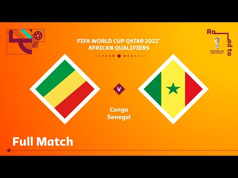 Congo v Senegal | FIFA World Cup Qatar 2022 Qualifier | Full Match