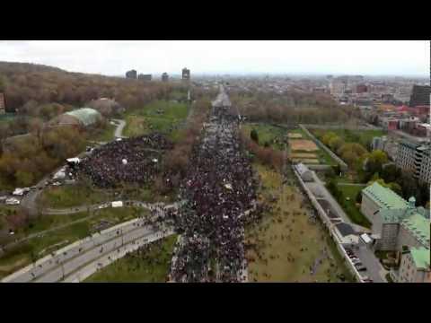 22 avril 2012 -- Jour de la Terre, Montréal