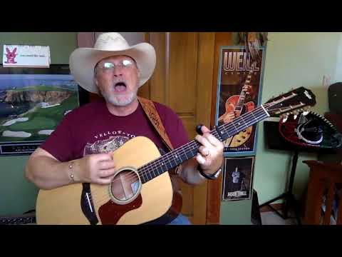 2327 -  Dream Walkin'  - Toby Keith cover -  Vocal -  Acoustic Guitar & Chords