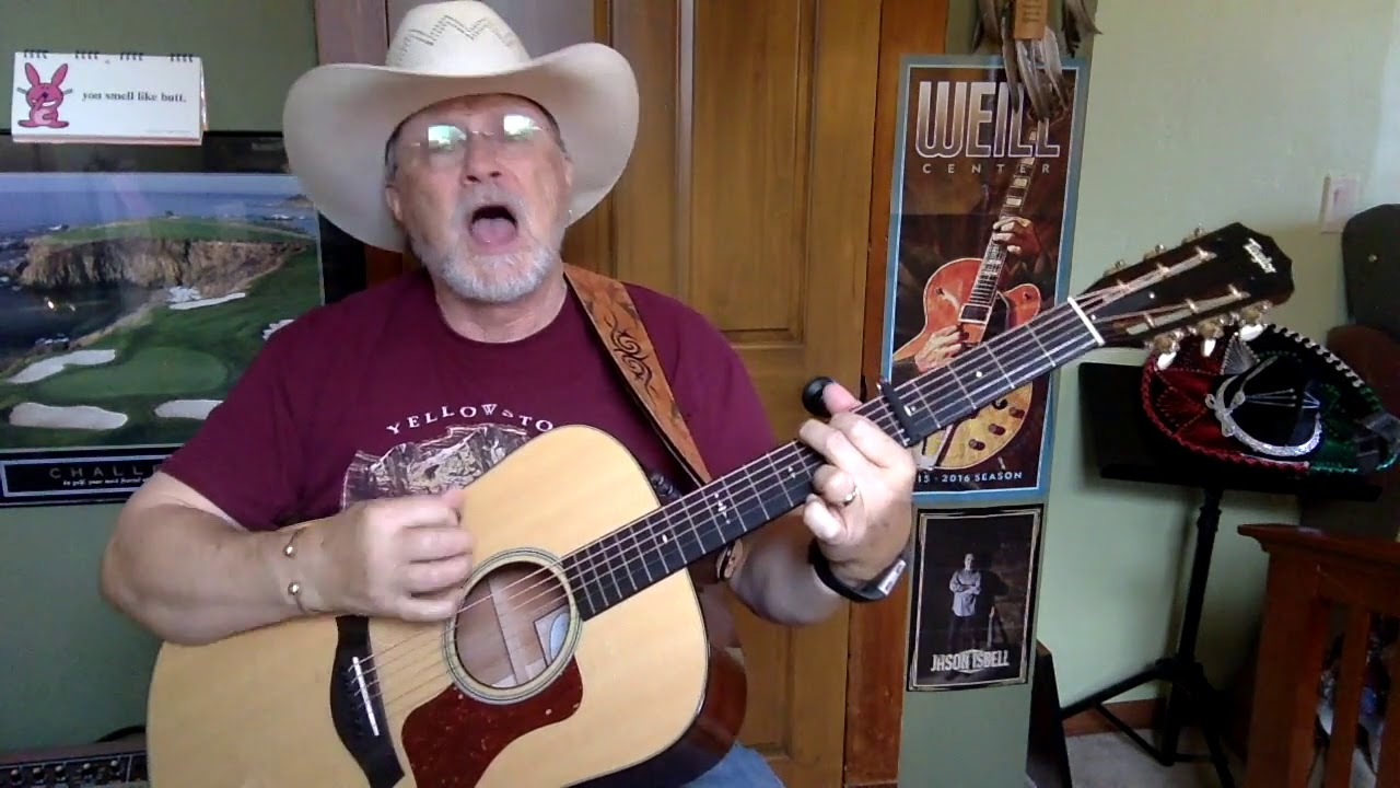 2327 Dream Walkin Toby Keith Cover Vocal Acoustic Guitar
