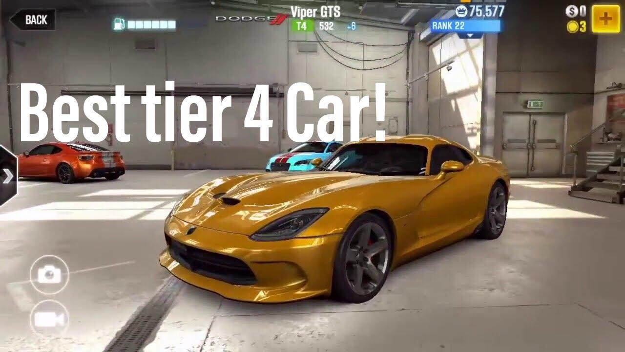 Best T4 Car Csr2 2018 The best cars in CSR Racing 2 in every tier