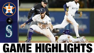 Astros vs. Mariners Game Highlights (8/30/21)