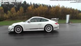 Nissan GT-R 530 HP decat vs Porsche 911 GT3 RS 4,0 x 2 races