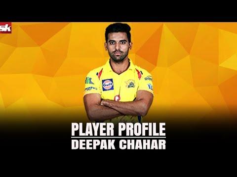 Player Profile: Deepak Chahar   IPL 2018   Sportskeeda