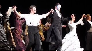 Мюзикл Призрак Оперы поклоны 25.06.2015 (300-ый спектакль)
