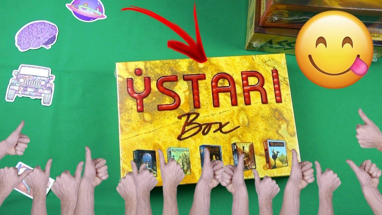 Настольные игры Ystari: Spyrium, Yspahan, Assyria, Sylla, Amyitis, Ystari Box