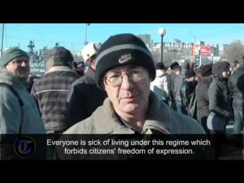 Russia election protests begin in Vladivostok