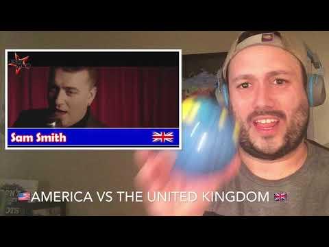 American Singers Vs United Kingdom Singers - Challenge!