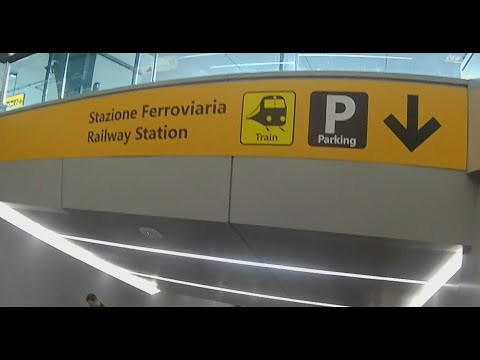 Download Walkthrough: Landing at Rome–Fiumicino (FCO) to Leonardo Express Train to Termini