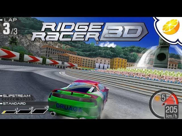 Ridge Racer 3D | Citra Emulator Canary 423 (GPU Shaders, Full Speed!) [1080p] | Nintendo 3DS