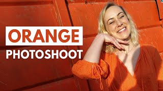 Searching For ORANGE Photo Challenge ft. Kati Morton