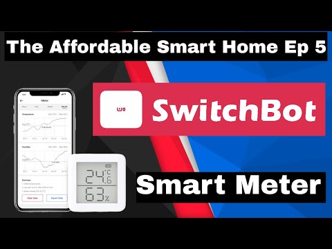 The Affordable Smart home Ep5 - Switchbot thermometer & Hygrometer