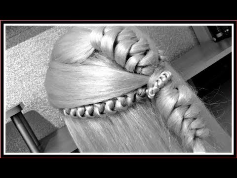2-techniques-/-double-knot-braid-+-style-/-hairglamour-styles-/-hair-tutorials
