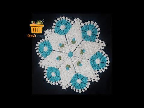 Yıldız Lif Yapımı anlatımlı |En güzel lif modelleri | how to crochet