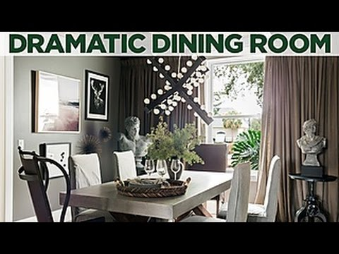 Add Drama To A Dining Room | HGTV Dream Home 2017