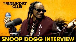 Snoop Dogg Talks New Def Jam Role, Losing His Mother, Eminem, Dr. Dre, Brotherhood + More
