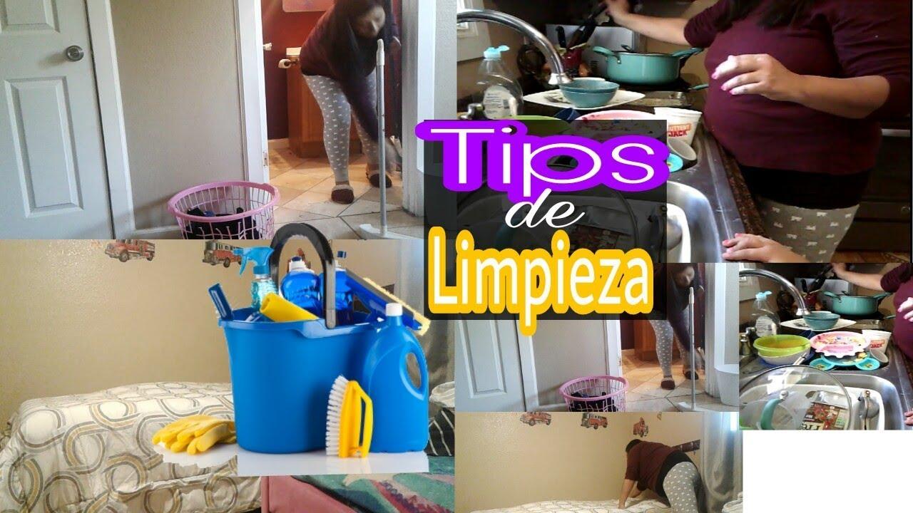Rutina diaria de limpieza tips como limpiar donde - Como limpiar una casa ...