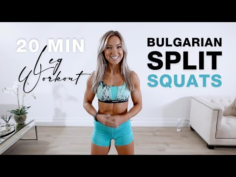 20 Min LEG WORKOUT | Bulgarian Split Squats / Lunges - Lower Body from YouTube · Duration:  24 minutes 1 seconds