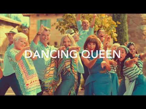 "Dancing Queen lyrics from ""Mamma Mia! Here We Go Again"""