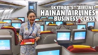 China's best Business Class? Hainan Airlines pt.1