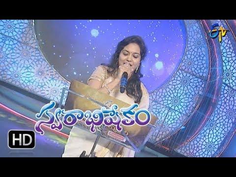Ninnatidaaka Song  Sunitha Performance   Swarabhishekam   28th January 2018   ETV Telugu