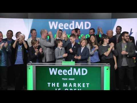 WeedMD Inc. opens TSX Venture Exchange, April 27, 2017