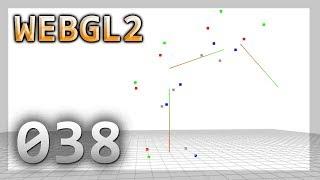 Fun with WebGL 2.0 : 038 : Skeleton / Bones / Skinning & Instancing