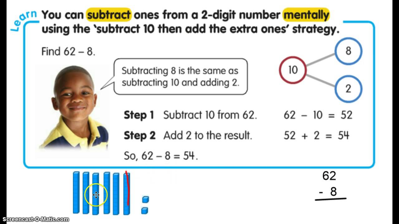 hight resolution of Addition and Subtraction with Base Ten - 2nd Grade Math