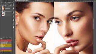 Как скопировать цвет кожи