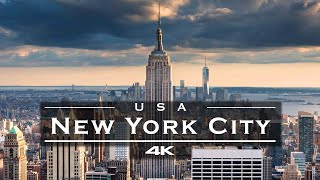 New York City (NYC), USA 🇺🇸 - by drone [4K] BEST OF