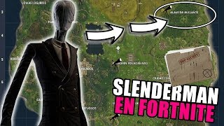SLENDERMAN appears in FORTNITE's SEARCH at 3:33 A.M. The SECRET of battle royale