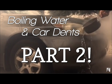 DIY Auto Body Hacks: Fix a Car Dent by Pouring Hot Water