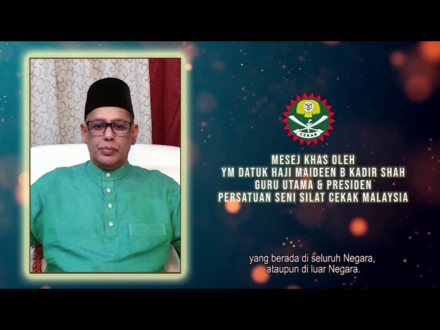 Covid19 - Mesej Tanggungjawab Sosial oleh Guru Utama & Presiden PSSCM