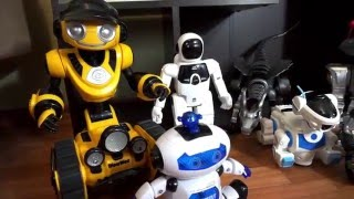 Robots toys for kids. Kids' Toys. Collection of Robots Toys