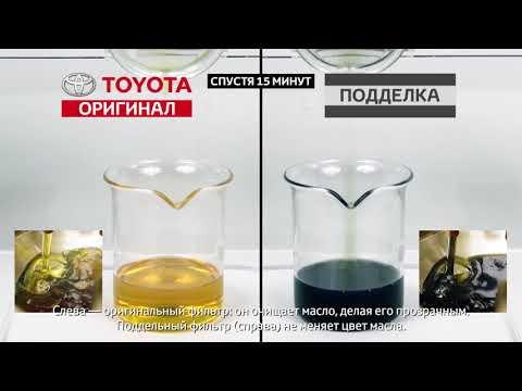 Оригинальные масляные фильтры Toyota