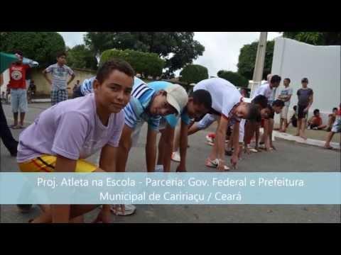 Projeto Atleta na Escola - Caririaçu