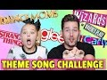 watch he video of TV THEME SONG CHALLENGE // WITH JOJO SIWA!!!