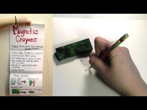 Crayons - Magnetic Crayon Video Project