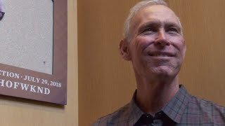 Trammell takes a special tour around Cooperstown